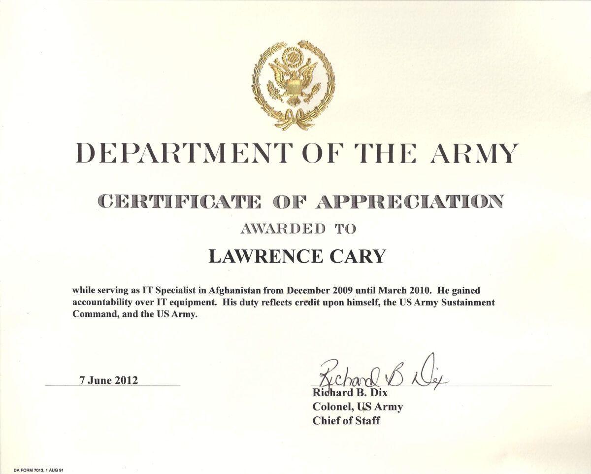 6 Army Appreciation Certificate Templates Pdf Docx With Certificate Of Completion Template Certificate Of Achievement Template Certificate Of Appreciation Air force certificate of appreciation template
