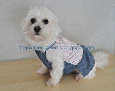 dog dress sewing patterns | mascotas | Pinterest | Dress sewing ...