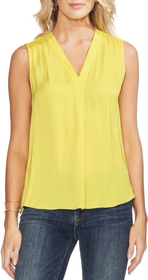 1defd35f7 Vince Camuto Rumpled Satin Blouse | Products in 2019 | Satin blouses ...