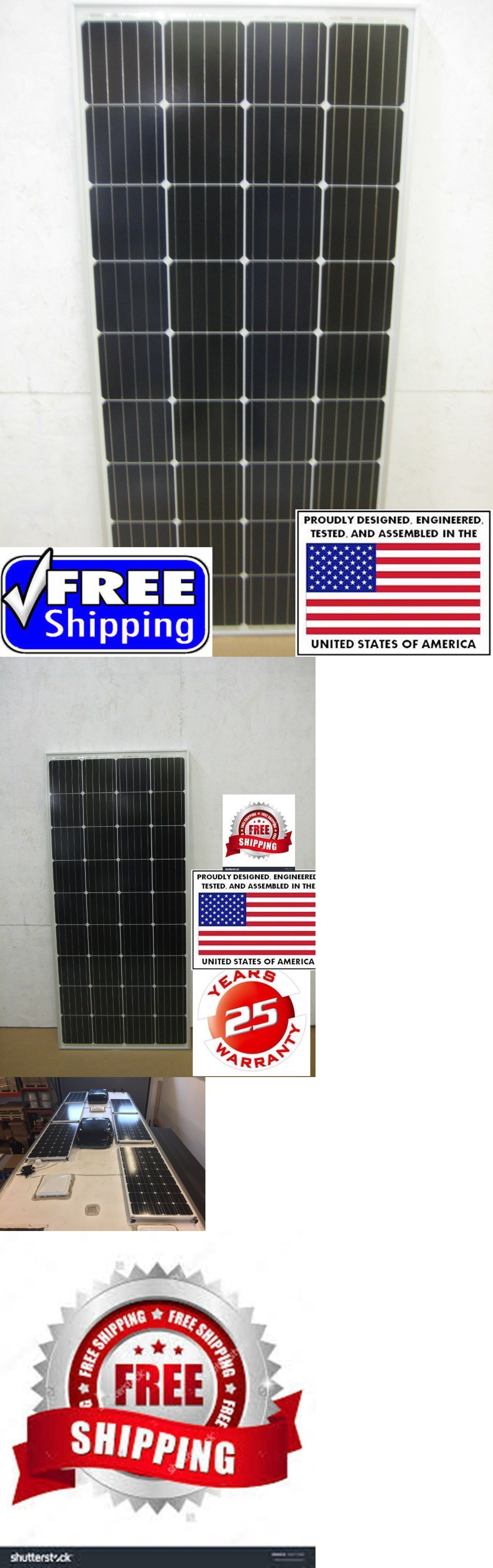 Alternative And Solar Energy 41979 1 200 Watt 12 Volt Battery Charger Solar Panel Off Grid Rv Boat 200 Watt Total Buy I Solar Panels Battery Charger Solar