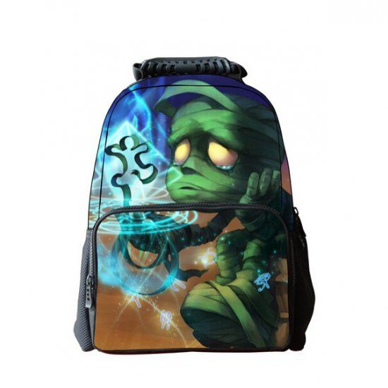 66bc270f99 3D League of Legends backpack for Teenagers Amumu printed school bags