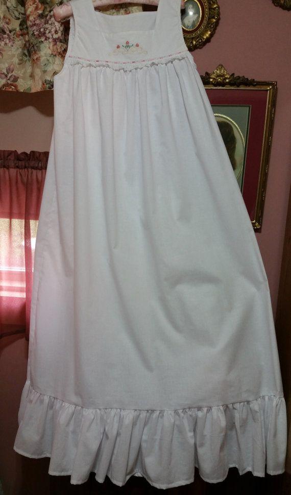 Ready to Go Victoriantype Heirloom floor length nightgown