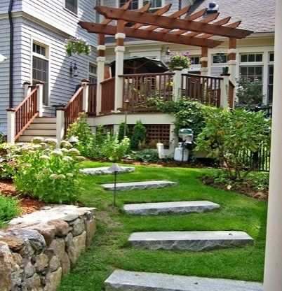 Paths Design Ideas Pictures Remodel And Decor Pergola Patio Landscaping Deck With Pergola