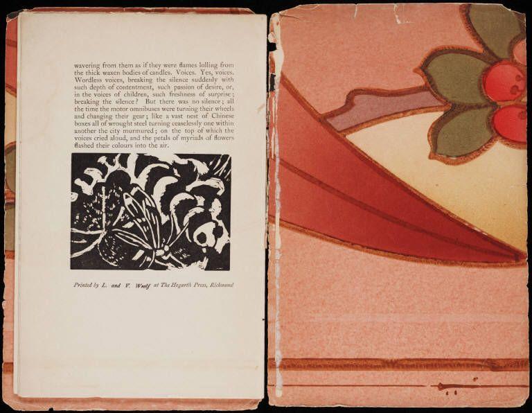 Original Book Printed At Hogarth Press By Leonard And Virginia Woolf Bloomsbury Groupimpressionist Artkew Gardensbook