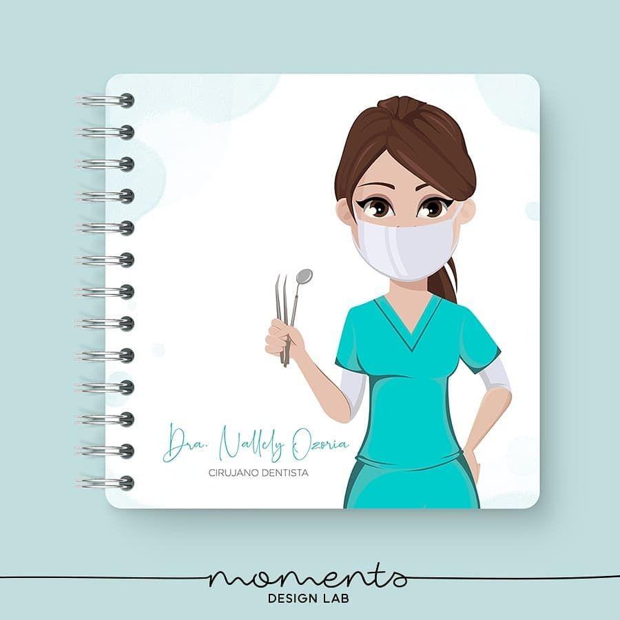 Una Portada Personalizada Siempre Inspira A Escribir Nuevas Ideas O Para Organizarte Mejor Cirujano Dentista Dentista Cirujano