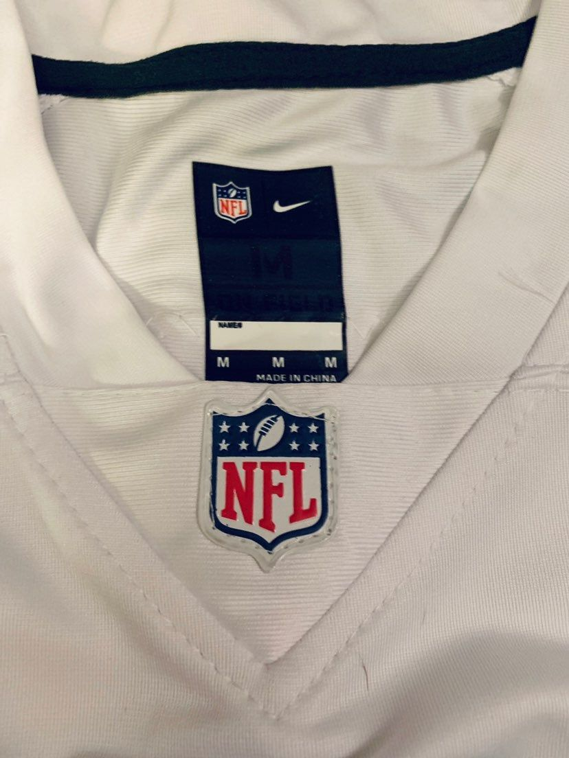 buy online 7e4d3 d3166 Women's Dallas Cowboys Dak Prescott Nike White Color Rush ...