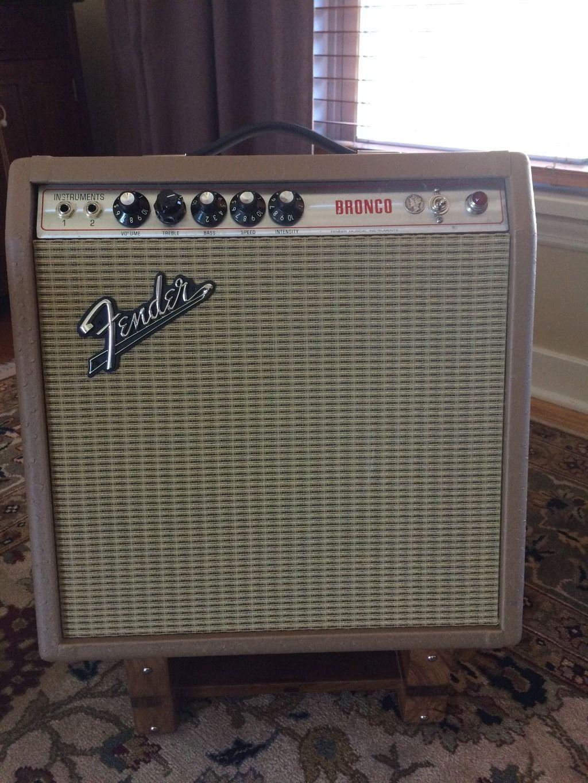 Custom Fender Bronco amp (same as Vibro-champ) | Amplified