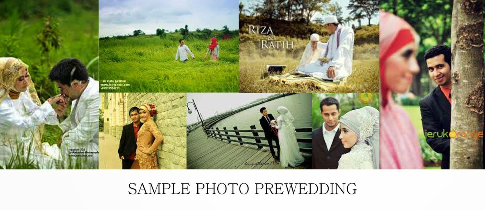 Foto Prewedding Wanita Berjilbab Kumpulan Gambar Pre Wedding Contoh