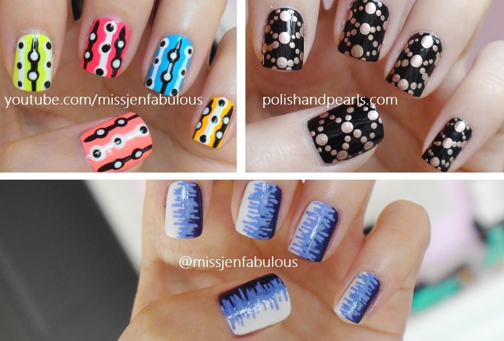 Easy Nail Art For Beginners Tutorial Beauty And Hair Pinterest