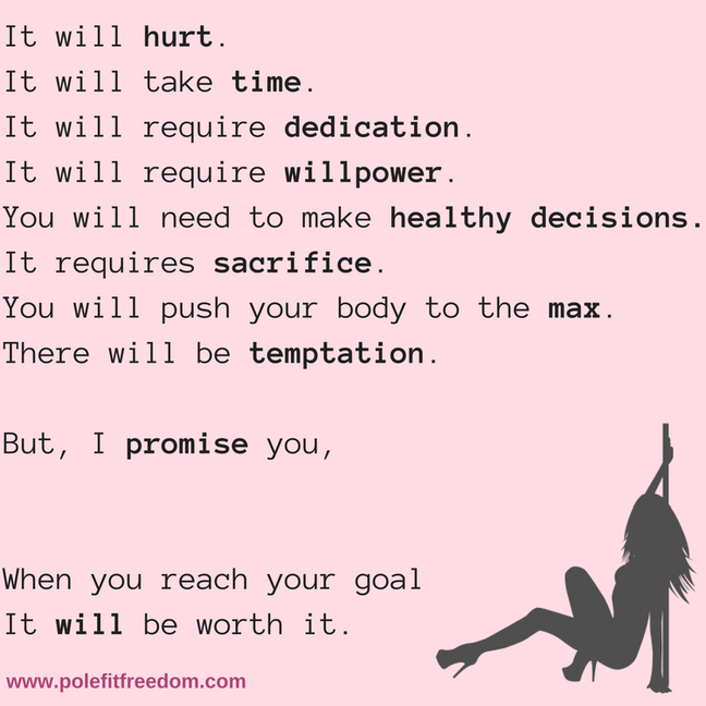 Inspirational Pole Dancing Quotes to Motivate Pole Dancers - Get Pole Fit