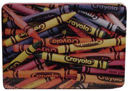 Collecting Crayola Tins and Collectibles: Crayola Crayons Tin 2000