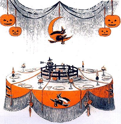 the vintage halloween website halloween party decorating ideas