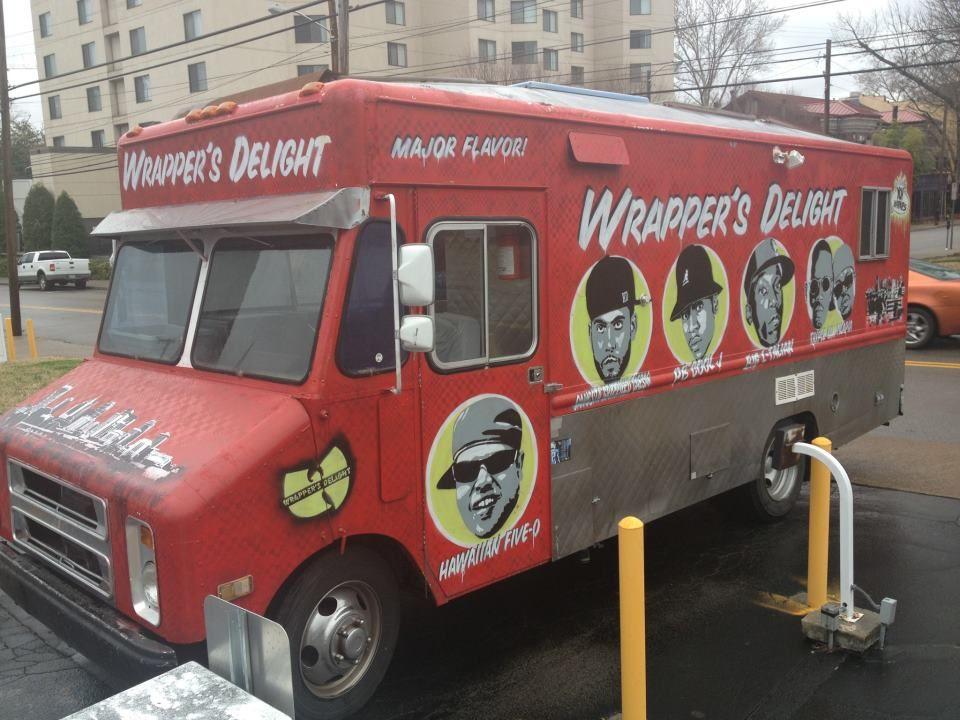 Wrapper's Delight BEST FOOD TRUCK IN NASHVILLE! I