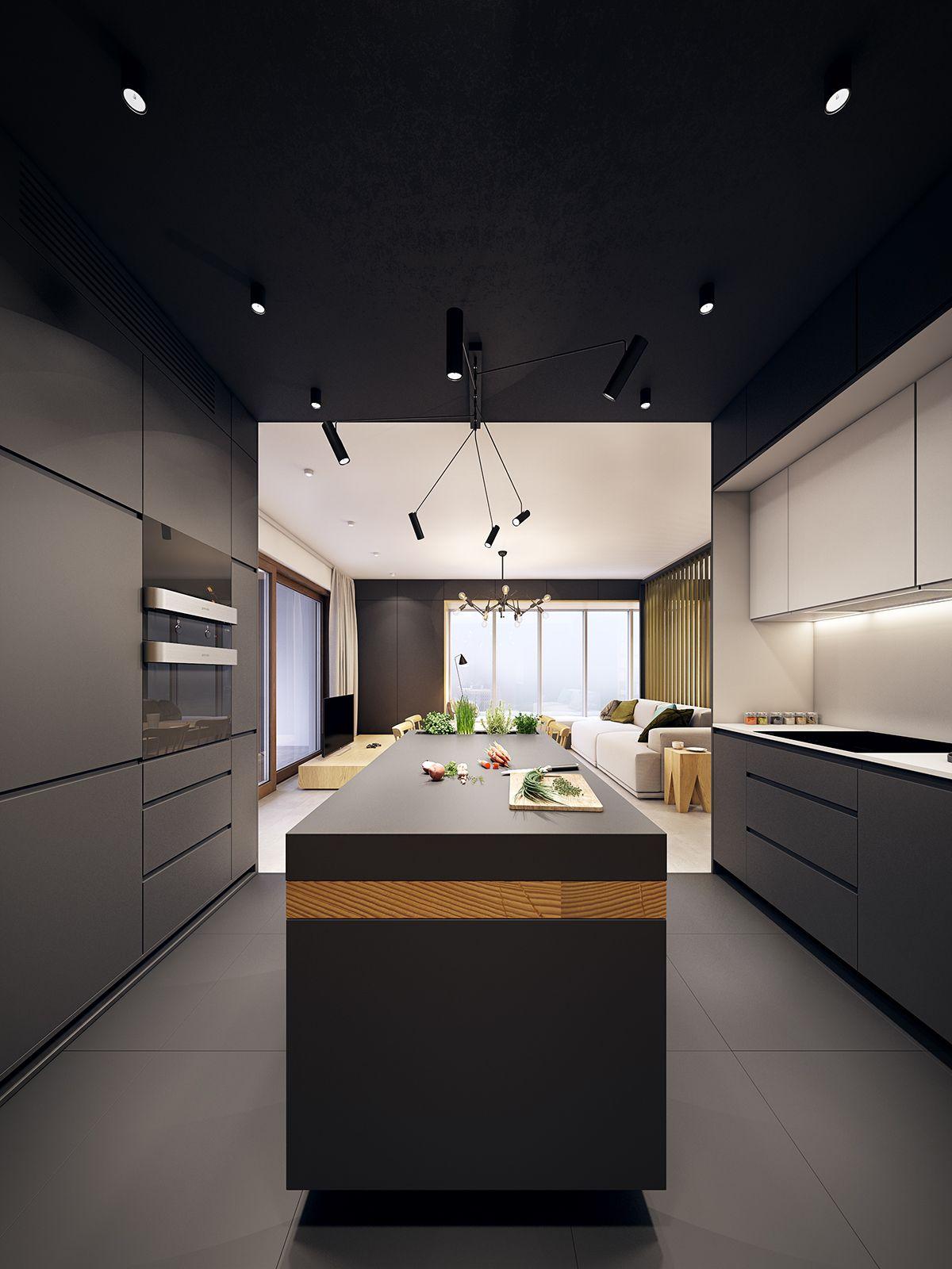 U S S Home Krak W On Behance Interior Ideas Pinterest  # Muebles Cocina Zelari Nuzzi