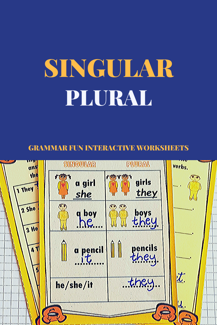 Subject Verb Agreement Worksheets Singular And Plural Plurals Subject And Verb [ 1102 x 735 Pixel ]