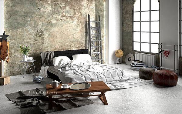 Bedroom/Big Space on Behance