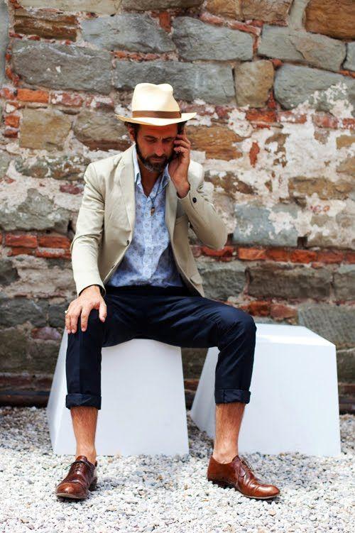 On the Street….Slim Sleeve, Florence « The Sartorialist