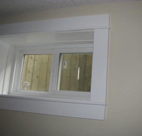 Interior window trim bing images trim ideas for Door trim designs interior