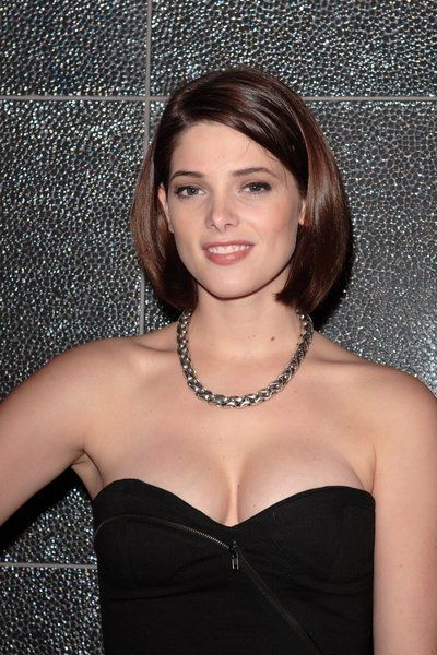 Short+Upswept+Hairstyles | This short bob is all one length and ...