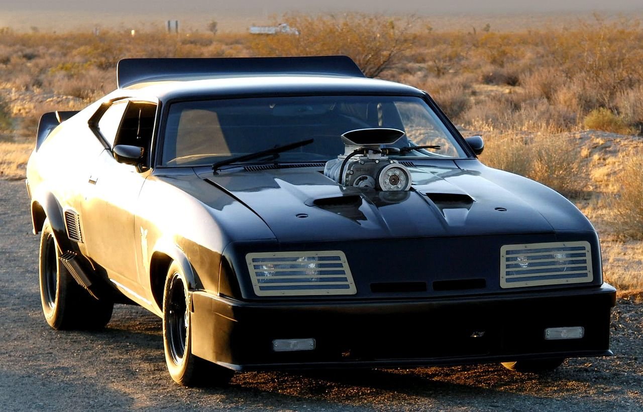Ford Falcon GT Pursuit Special V8 Interceptor, 1979. Based on a 1973 XB series Australian Falcon co