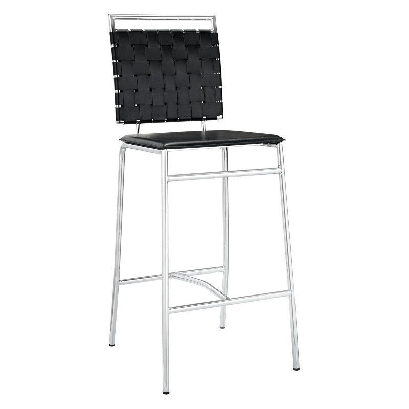Modway Fuse 29 in. Bar Stool Black