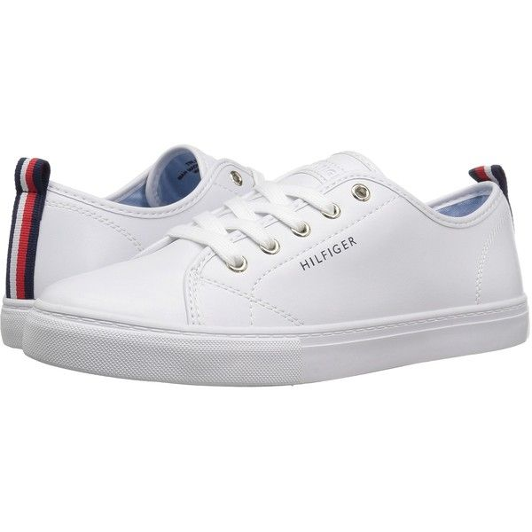 Tommy Hilfiger Lumidee 2 (White) Women s Shoes ( 45) ❤ liked on Polyvore  featuring shoes 6c1bffdf630