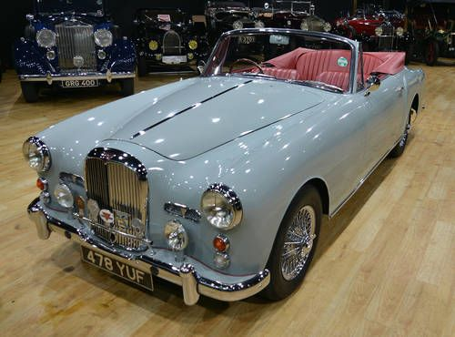 1960 Alvis TD21 Convertible Cars For Sale |   £118,000 (sigh)