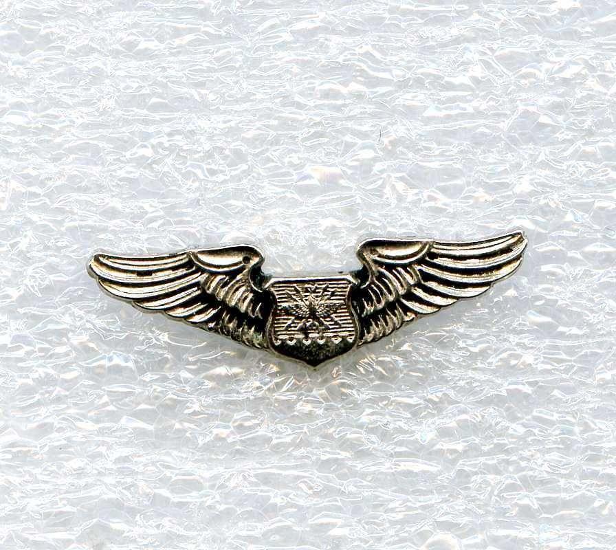 Vintage United States Air Force Wings Badge Navigator