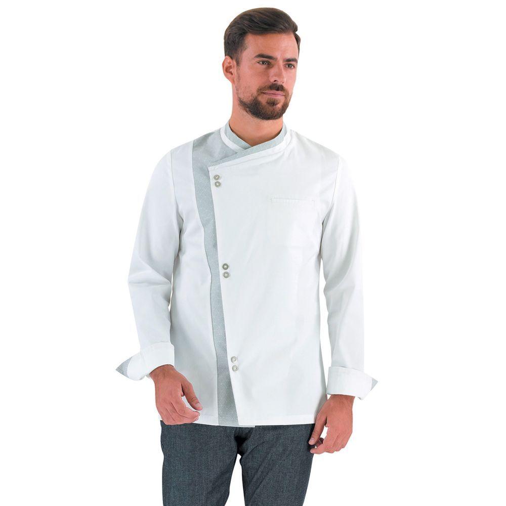 veste de cuisine elegante homme lafont