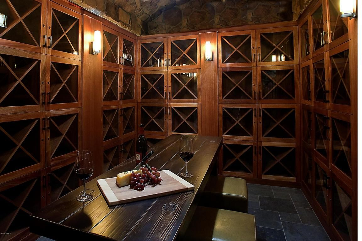 The Wine Cellar At The Sage Condominiums Down A Spiral