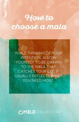 How to Choose Your Mala Allow yourself to be drawn to a mala that catches your  How to Choose Your Mala Allow yourself to be drawn to a mala that catches your  How to Cho...
