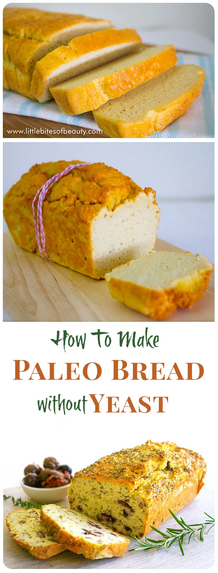 How To Make Paleo Bread Without Yeast - Little Bites of ...