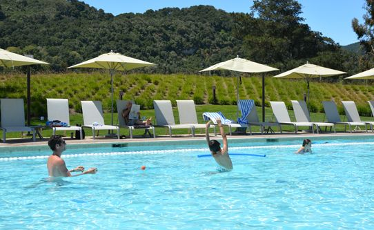 Carmel Valley Ranch Family Pool Fun In The Sun Snow Cones Are