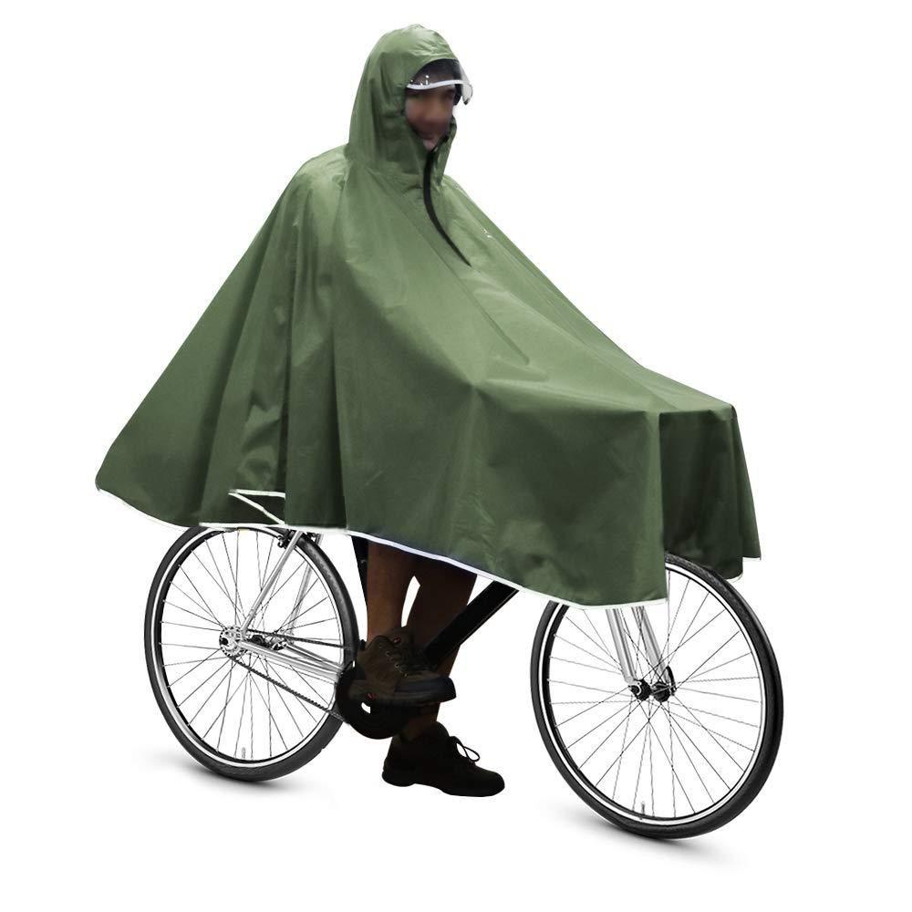 Waterproof Rain Poncho Bike Bicycle Rain Coat Jacket Capes Lightweight Compact