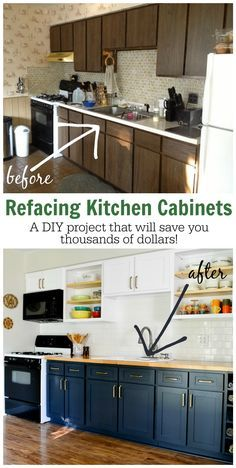 Why I Chose to Reface My Kitchen Cabinets (rather than paint or replace)