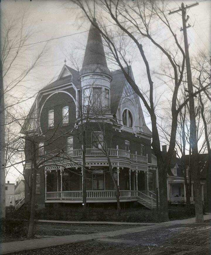 Gothic House Image By Brean Zarate On Dark
