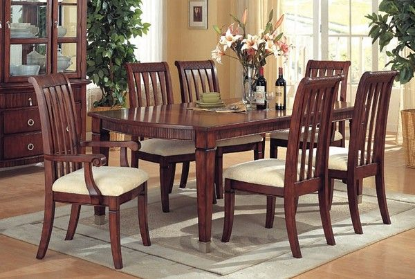 Handstone Phillipe Harvest Table 42X72212 Set  8 Pcs Inspiration Dining Room Table Chairs Decorating Inspiration