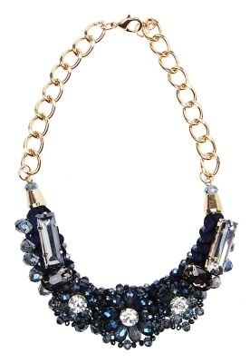 0bbe31d03f88 Joyeria - Collar Azul con Cristales - Pink Revolver Precio   690.00 3 pagos  de   230.00 meses sin intereses