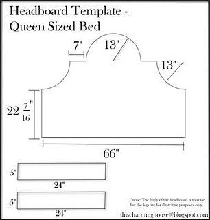 Headboard Template