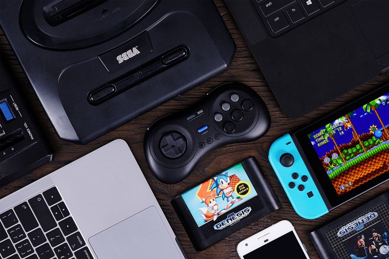 Love The Sega Ages Range Then 8bitdo Has Made Your Dream Controller Nintendo Life Love The Sega Ages R Sega Genesis Wireless Controller Xbox One Controller