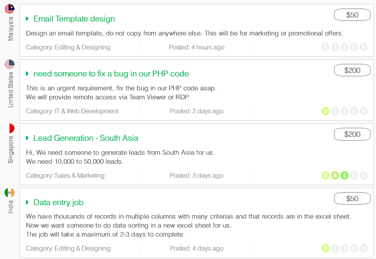 Do apply on these Jobs. Email template design