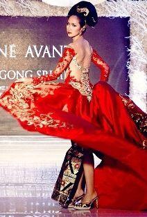 Model Kebaya Warna Merah Google Search Kebaya Merah In 2018