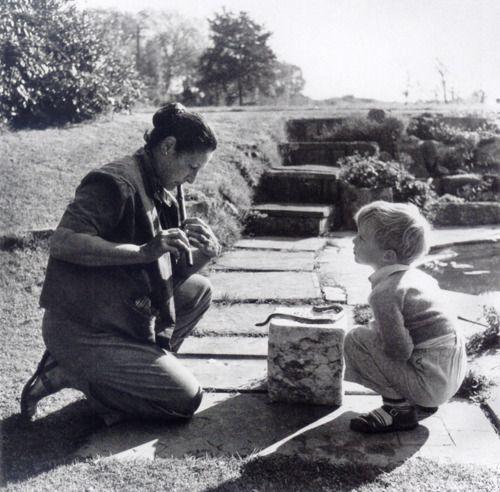 Valentine Penrose And Antony Penrose Farley Farm 1939 By Lee