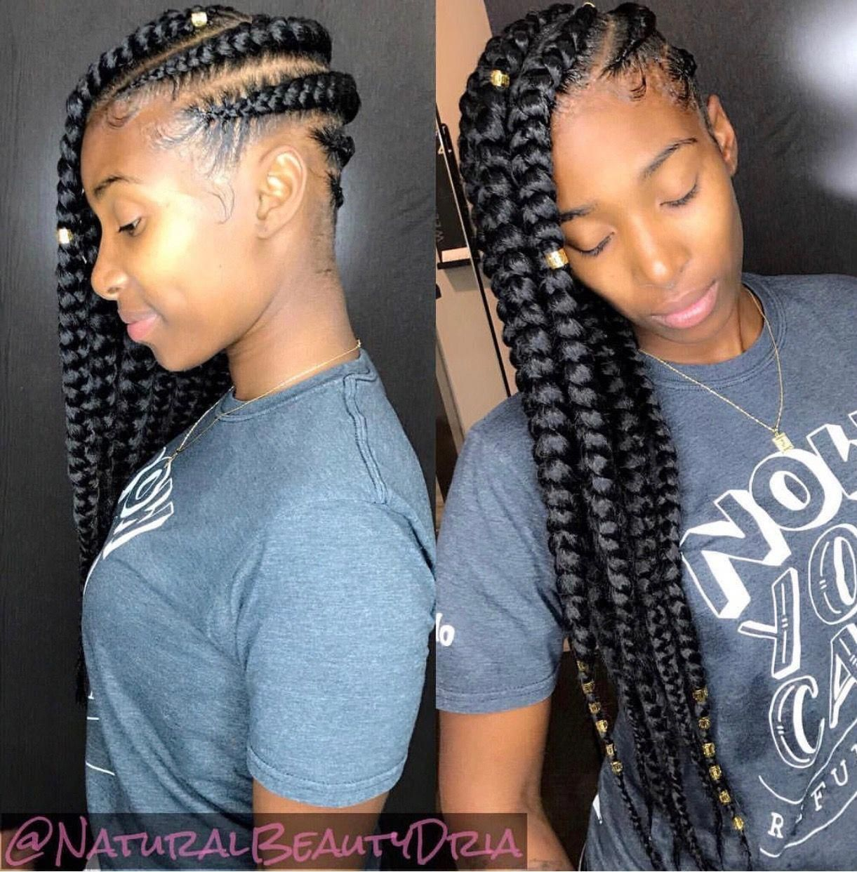 Pin By Jordan On Sister Hairstyle Ideas In 2020 Quick Braided Hairstyles Black Girl Braided Hairstyles Braided Hairstyles For Black Women