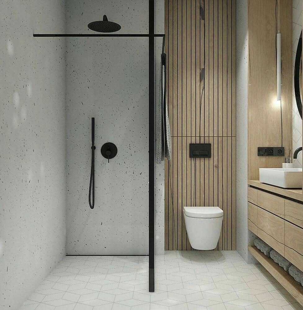 Bathroom Minimalistic Wooden Soft