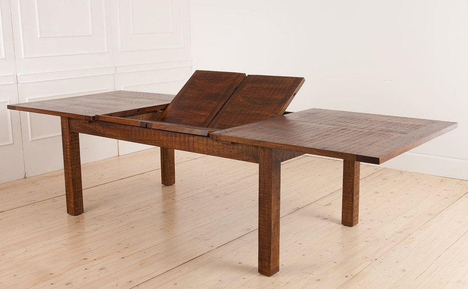 Tiffany Extension Dining Indonesian Mango Wood Timber ...