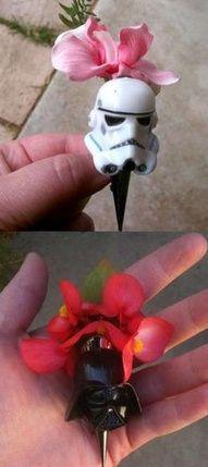 Auguri Matrimonio Star Wars : Flowers rockabilly wedding wedding star wars wedding e funny