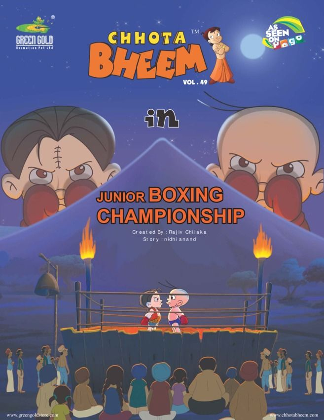Chhota Bheem Vol 49 - Junior Boxing Championship edition - Read the - best of chhota bheem coloring pages games