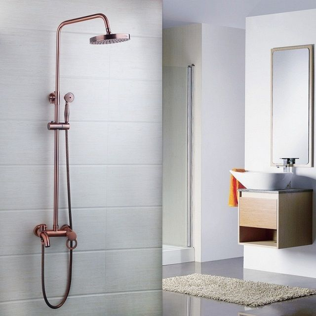 Bathroom Faucet On Ebay modern luxury antique copper finish bathroom faucet shower set