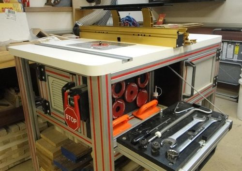 Router table what would you do differently router table i am preparing to build a new router table for my incra system i have read some great posts on here regarding some of the tablecabinet builds greentooth Gallery